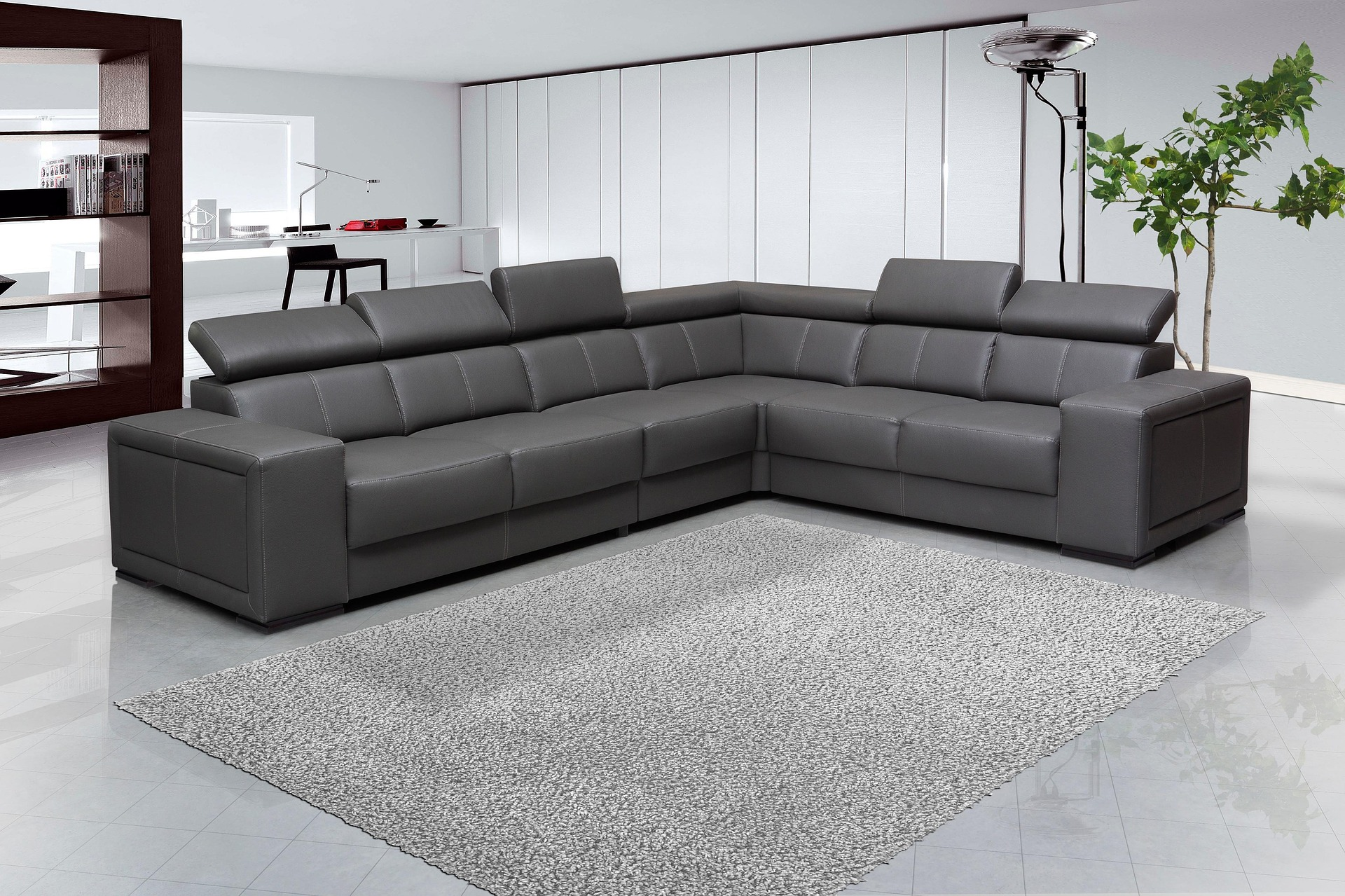 With its elegant design, the sectional sofa bed is one of its kind.